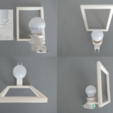 Free stl files light holder for LIPOFANIAS, 3dlito