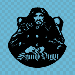 hhrg.png Download STL file SNOOP DOGG WATCH • 3D printing design, 3dlito