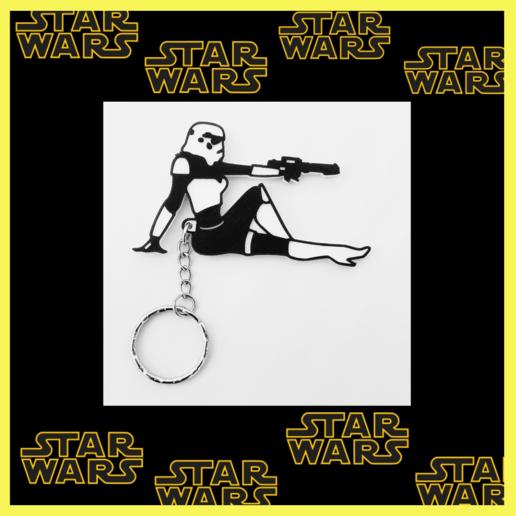 Descargar STL Sexy Stormtrooper keychain, 3dlito
