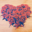 Download free 3D printing designs DRAWING 3D Roses, 3dlito