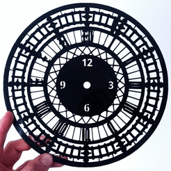 3D print files LONDON Clock, 3dlito