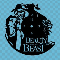 Download 3D printing templates WATCH THE BEAUTIFUL AND THE BEAST, 3dlito