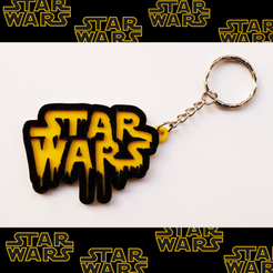 Impresiones 3D STAR WARS Keychain, 3dlito