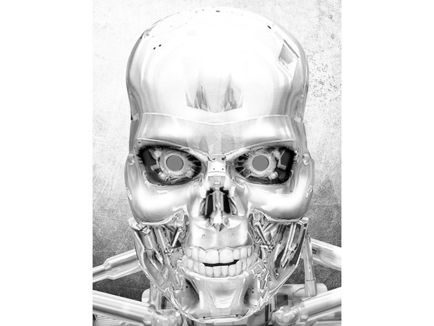 d173ca52893450ac3fd46a733a1c5a50_preview_featured.jpg Télécharger fichier STL gratuit Terminator dessin 3D • Modèle imprimable en 3D, 3dlito