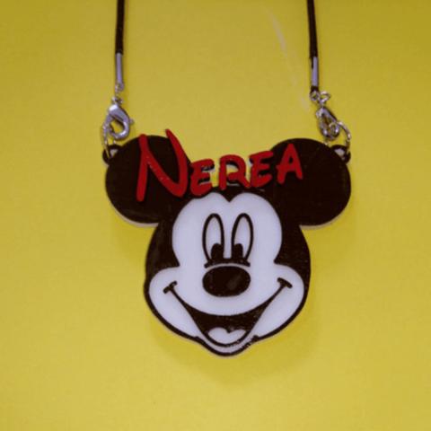 Capture d'écran 2018-05-18 à 11.01.46.png Download free STL file Pendant Nerea Mickey • Object to 3D print, 3dlito
