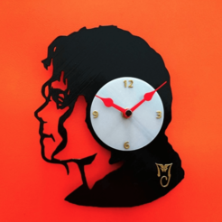 Free stl files MICHAEL JACKSON WATCH, 3dlito