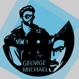 Descargar STL Reloj de pared George Michael , 3dlito