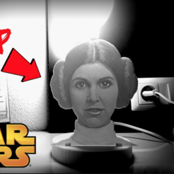 Download free 3D print files litia Leia Organa, 3dlito
