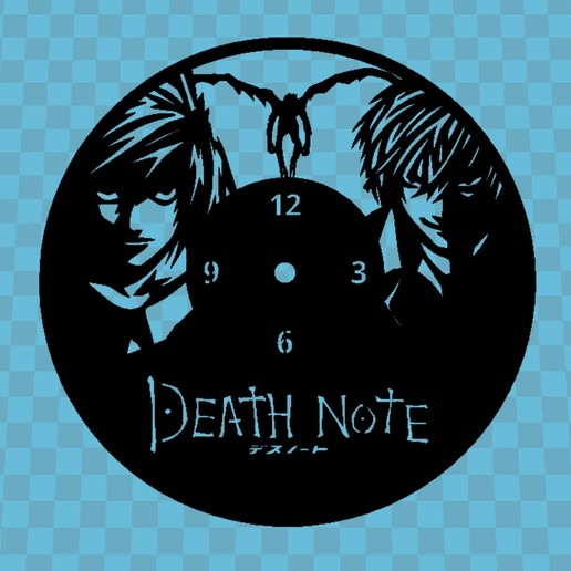 Download free STL DEATH NOTE WATCH, 3dlito