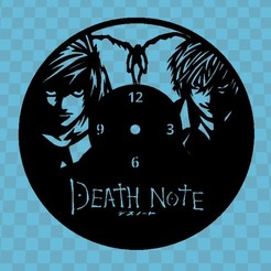 Download free STL DEATH NOTE WATCH, 3dlito