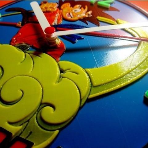 9b5e3cdbfd0558a53ef10108a71a0c9a_preview_featured.jpg Download free STL file Reloj Dragon Ball Z • 3D printer object, 3dlito