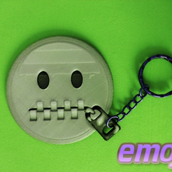 Free 3d printer designs EMOJI 3D Keychain, 3dlito