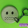 Download free 3D printer designs EMOJI 3D Keychain, 3dlito