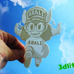Download free 3D printer designs Arali lithophane, 3dlito