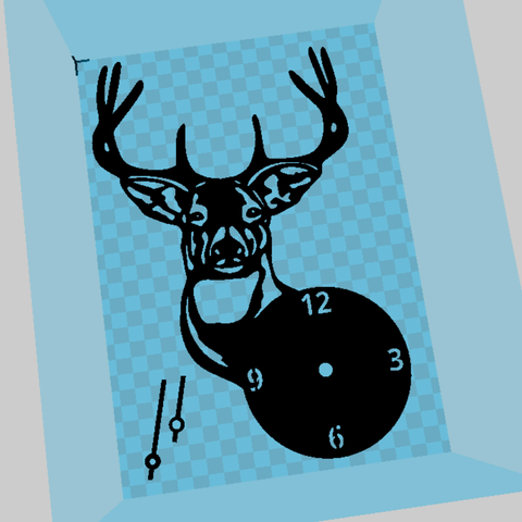 Sin Título(294).png Download STL file Deer Watch • Object to 3D print, 3dlito
