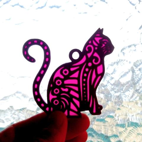 Capture d'écran 2018-04-27 à 12.01.59.png Download free STL file Cat key ring • 3D print design, 3dlito