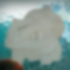 Download free 3D printer files litofania Low poly pokemon, 3dlito