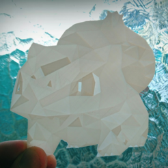 Free 3D print files litofania Low poly pokemon, 3dlito