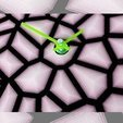 c98e1e1ae2330a075d9767d40ac532e8_display_large.jpg Télécharger fichier STL gratuit Reloj Voronoi • Plan pour impression 3D, 3dlito
