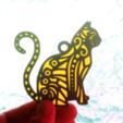 Capture d'écran 2018-04-27 à 12.02.08.png Download free STL file Cat key ring • 3D print design, 3dlito
