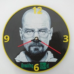 Free STL file Reloj Breaking Bad 3D, 3dlito
