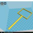 Download free STL file Aquarium Fishing Net • 3D printable design, WildHunter