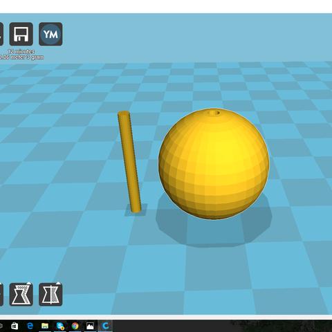 bouchon 3d.png Download free STL file Fishing cap • 3D printing template, WildHunter