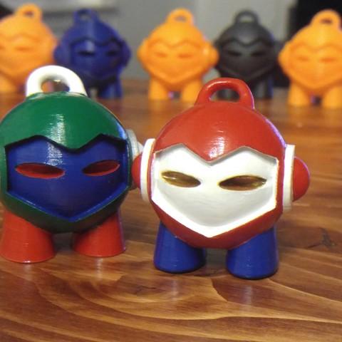Impresiones 3D gratis 3D Hubs Marvin - Key Chain, WeMake3d