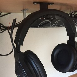 stl Headphone hanger, KimmseHD