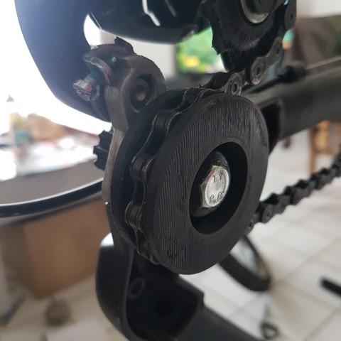 Télécharger fichier STL gratuit roue nettoyage vélo, nicototty