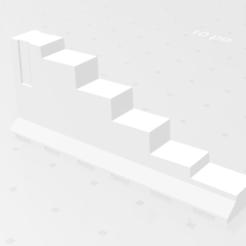 Capture d'écran (2).png Download STL file Wedge / Staircase • 3D print template, Arnaud1