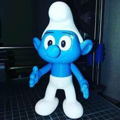 Free The Smurf 3D model, Adolfo