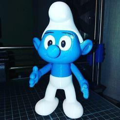 Fichier 3D gratuit The Smurf, Adolfo