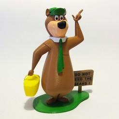 Modèle 3D gratuit Yogi Bear, Adolfo