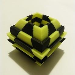 STL gratuit Cacti Vase (Dual Extrusion / 2 Color), Adolfo