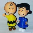 Download free STL files Lucy van Pelt, Adolfo
