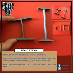 Descargar archivo 3D gratis STEEL SECTIONS, PUTOCREO