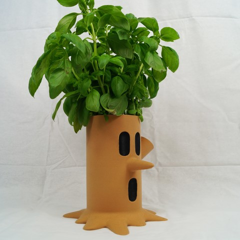 Download free 3D printer designs Kirby Whispy Woods Plant Pot, HD3DP