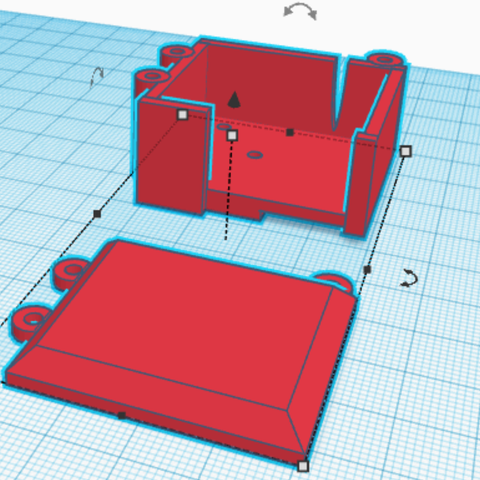 Download free 3D printing files Rc 1/18 steering servo box for mini kyosho modify, Furalex