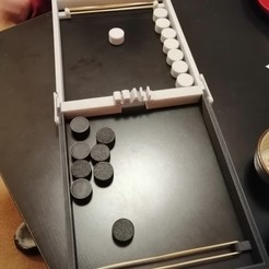 Descargar diseños 3D Juego de disco para dos, ncostis