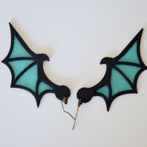 Download free 3D printer designs Dragon Wings, LordTailor