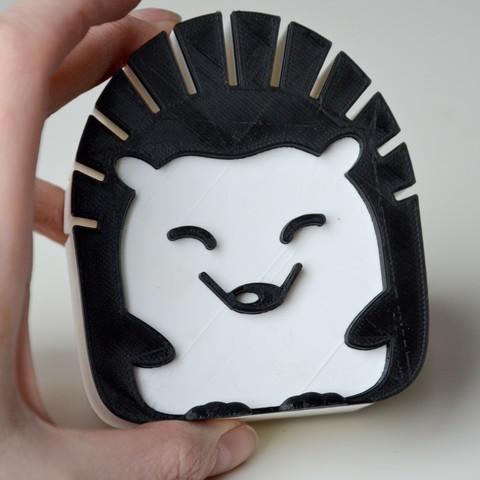 3.jpg Download free STL file mail hedgehog  • 3D print template, LordTailor