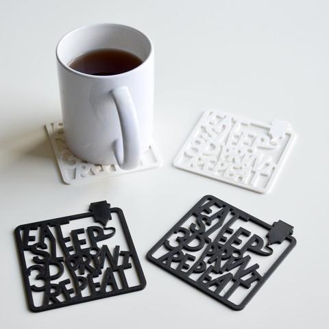 stl Comer, dormir, y repetir las impresiones 3D! gratis ・ Cults