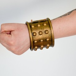 Download STL file BRACELET for LARP and COSPLAY • 3D printing model, LordTailor