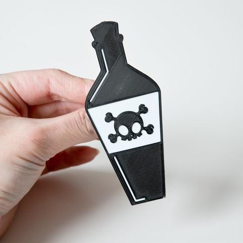 Download free STL file Poison Brooch • Design to 3D print, LordTailor