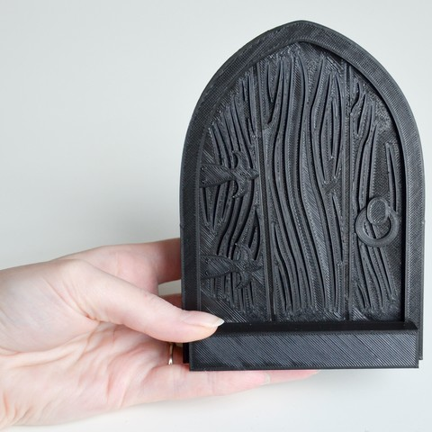 4.jpg Download STL file Little gnomes door  • 3D printable model, LordTailor