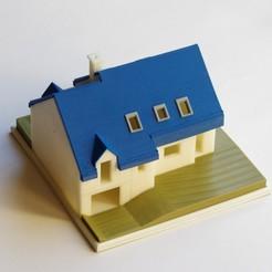 Descargar diseños 3D gratis Casa en medio nivel, mcbat