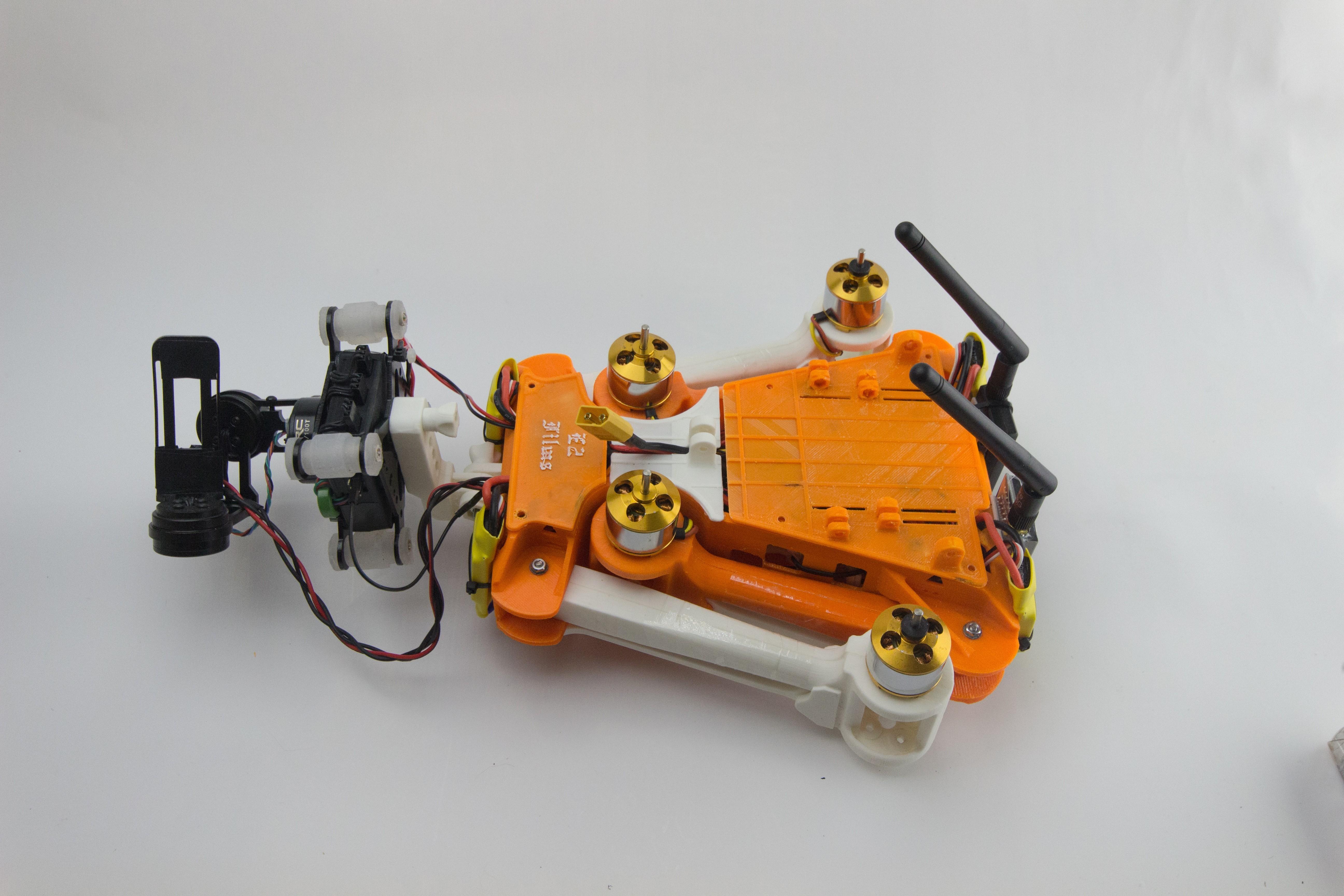 IMG_8293.jpg Download STL file Folding Quadcopter 450 Frame • 3D print object, AleksandrDolzhenko