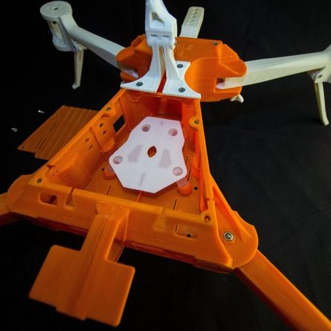 IMG_8940.jpg Download STL file Folding Quadcopter 450 Frame • 3D print object, AleksandrDolzhenko