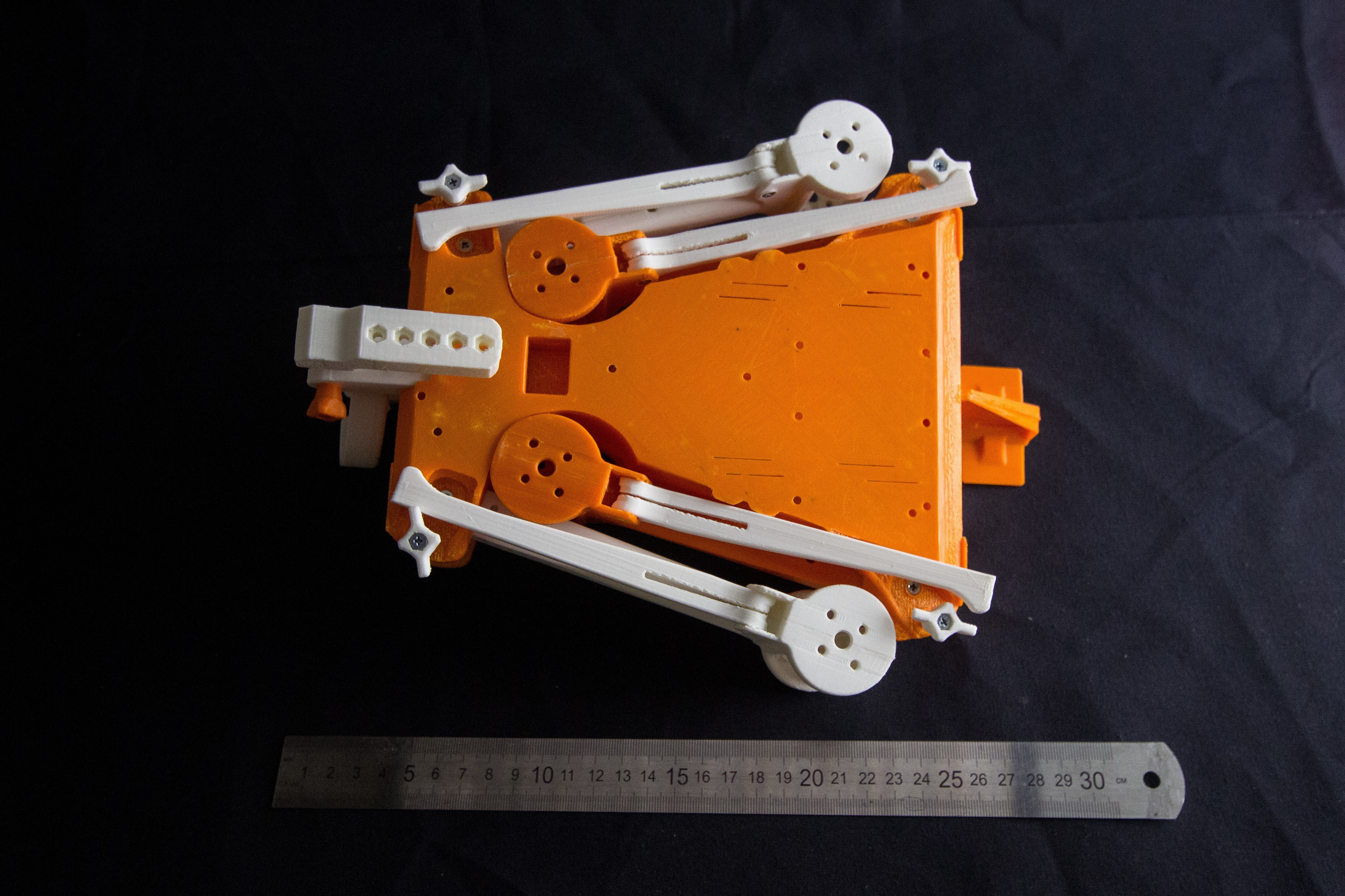 IMG_8951.jpg Download STL file Folding Quadcopter 450 Frame • 3D print object, AleksandrDolzhenko